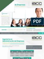 Programa de Continuidad en Ingenieria en Adm. Empresas