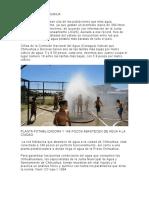 Agua en Chihuahua