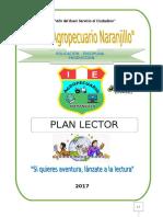 Plan Lector 2017  Secundaria por trimestre
