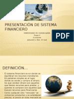 Presentación de Sistema Financiero