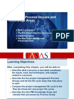 Chapter 2 - Process Groups and Knowledge Areas (1)