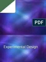 Experimental Design Reporting