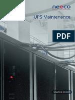 UPS Maintenance