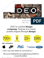 Ideo - design consulting group