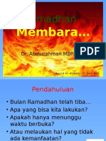 Ramadhan Membara...