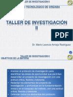 1 Taller de Investigación II (Investigación y Propuesta)
