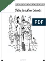 Folleto Para Estudiante Principiantes Para Tocar Violin - Portugues
