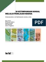 Buku Laporan Ketimpangan Sosial 2016