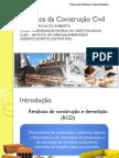 Aula 10 - Resíduos Da Construção Civil
