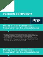 FLEXION COMPUESTA