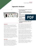 IDAX300 Insulation Diagnostic Analyzer Megger