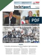 La Provincia Di Cremona 22-05-2017 - Serie B - Pag.1