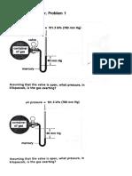 Barometer & U-tube