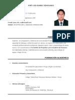 CV-Jose Suárez Seminario
