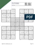 Samurai Sudoku534656756