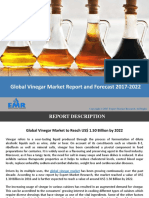 Vinegar Market Report, Trends and Forecast 2017-2022