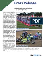 PR 110 2017 Individual Speedway Euro Championship at Gorican Croatia