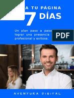 Aventura Digital Crear Tu Pagina en 7 Dias v1 0