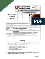 F-modelo de Examen Parcial Reingenieria