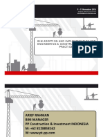 Bim Adoption and Implementation for Engineering and Construction Industry Practices English