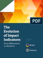 Evolution of Impact Indicators