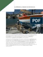 Cómo Podemos Detectar y Reparar La Ósmosis en Barcos
