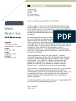 114 Net Profile Cover Letter