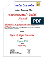 Environmental Vandal Award KenLynMelville RSAE10