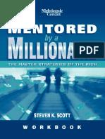 Mentored by a Millionare Workbook - Steven Scott (Master Strategies of the Rich) (eBook)