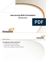 Interviewing Skills Presentation