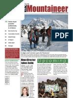 December 2009 Mountaineers Newsletter