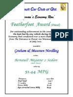 Feather Foot Award Diesel GrahamMaureenNordlingRSAE10