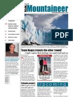 January 2010 Mountaineers Newsletter