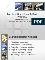 2009 11 13 Assessment BenchmarkingBestPractices