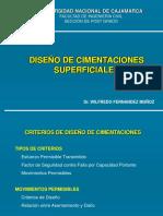 DISEÑO DE CIMENTACIONES SUPERFICIALES.FERNENDEZ.MIC.UCV