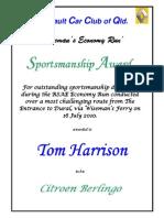 SportsmanshipAward-TomHarrison-RSAE10