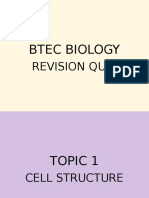 Btec Biology New Revision