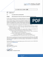 Circular 229 Development Control New System for Submission of Project Drawings