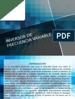 inversor de frecuencia variable