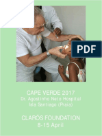 Humanitarian trip Cabo Verde 2017 Clarós Foundation