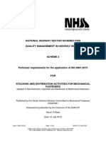 NHSS 3 9001:2015 - Issue 1 July 2016
