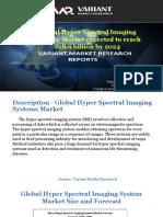 Hyper Spectral Imaging Systems Market