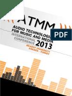 ATMM 2013 Proceedings