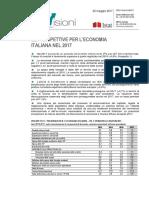 Istat Prospettive Economia Italiana 2017