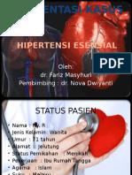 PRESENTASI KASUS HIPERTENSI