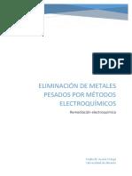 Eliminación de Metales Pesados Por Métodos Electroquímicos