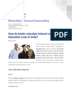 Calculate Education Loan Interest