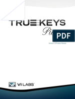 True Keys Manual V1