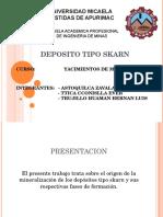 Yacimientos Tipo Skarn Del Peru