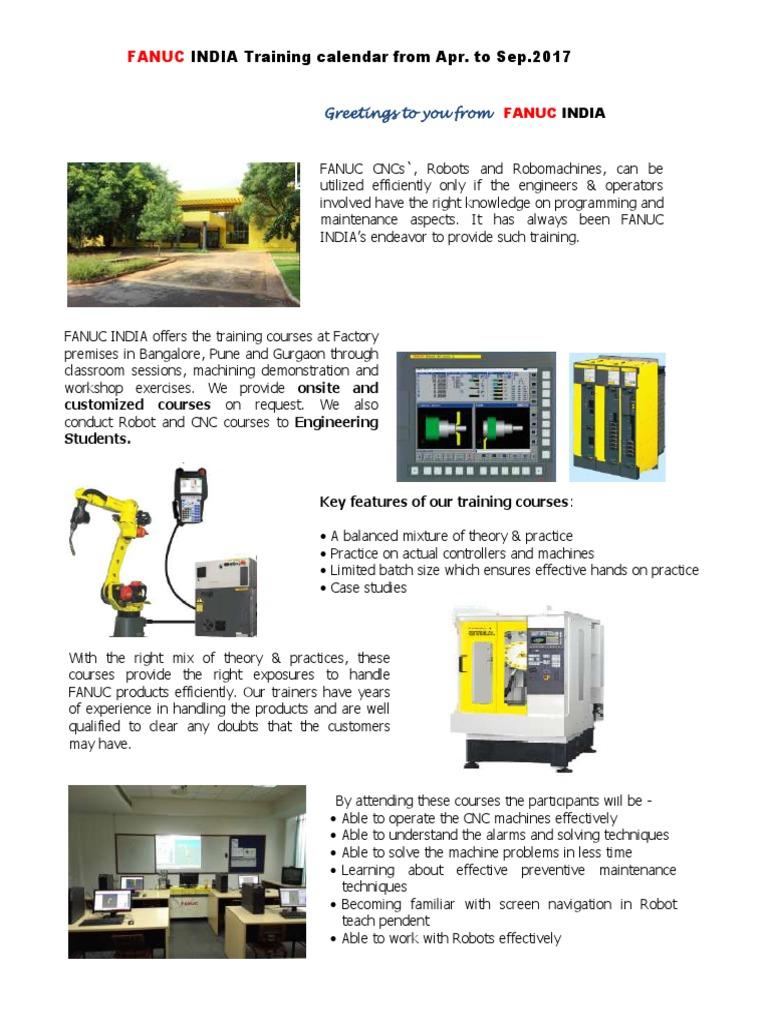 Training calendar Apr 17 to Sep 17 pdf | Tecnología (118 views)